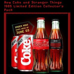 Limited edition collectors pack Coca-Cola